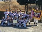 横浜市南区少年野球連盟 新人戦 優勝しました!