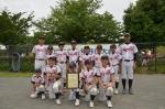 南区区民少年野球大会 3位