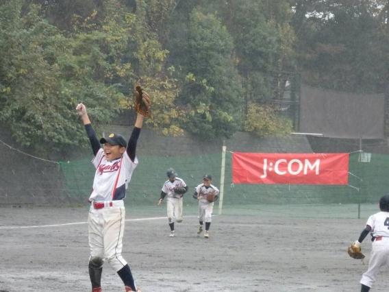 南区学童秋季大会 悲願の優勝!!